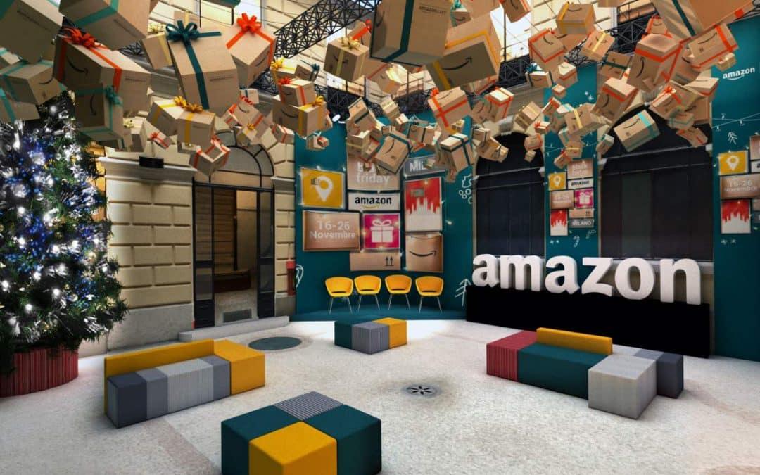 Apre per il Black Friday l'Amazon Loft for Xmas,il primo pop-up store di Amazon in Italia